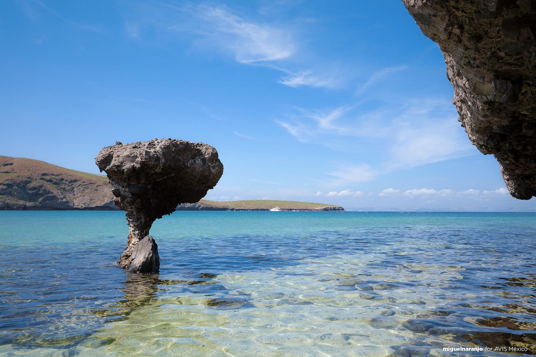El Hongo, Playa Balandra, Baja California Sur