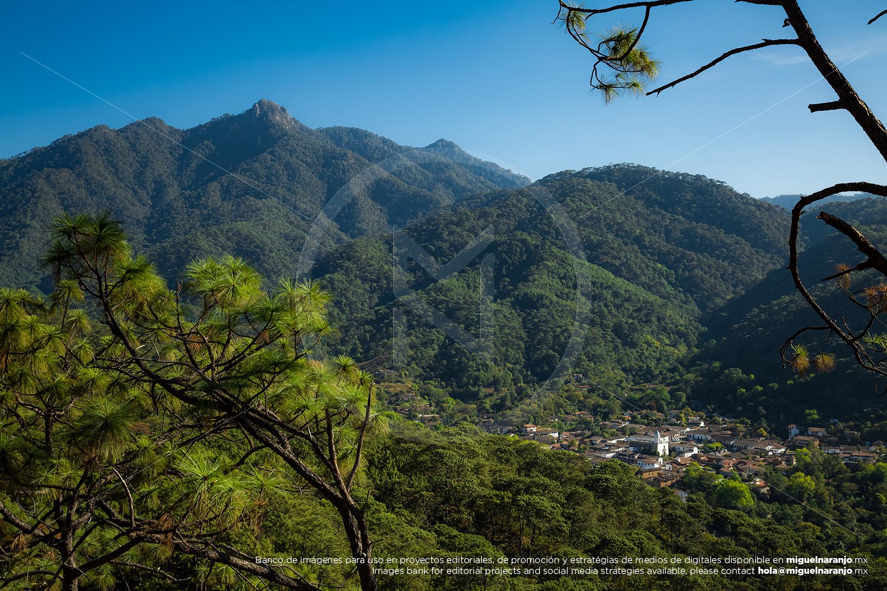 Mirador San Sebastián del Oeste, Jalisco