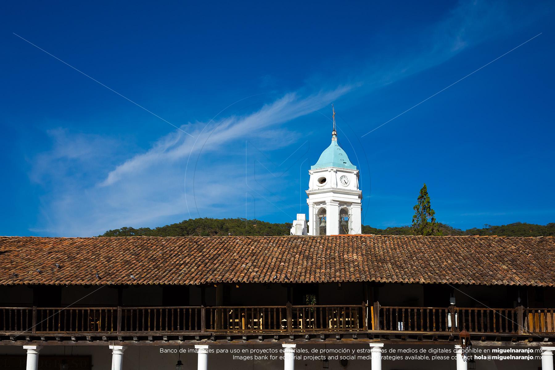 Cupula Iglesia San Sebastián del Oeste, Jalisco