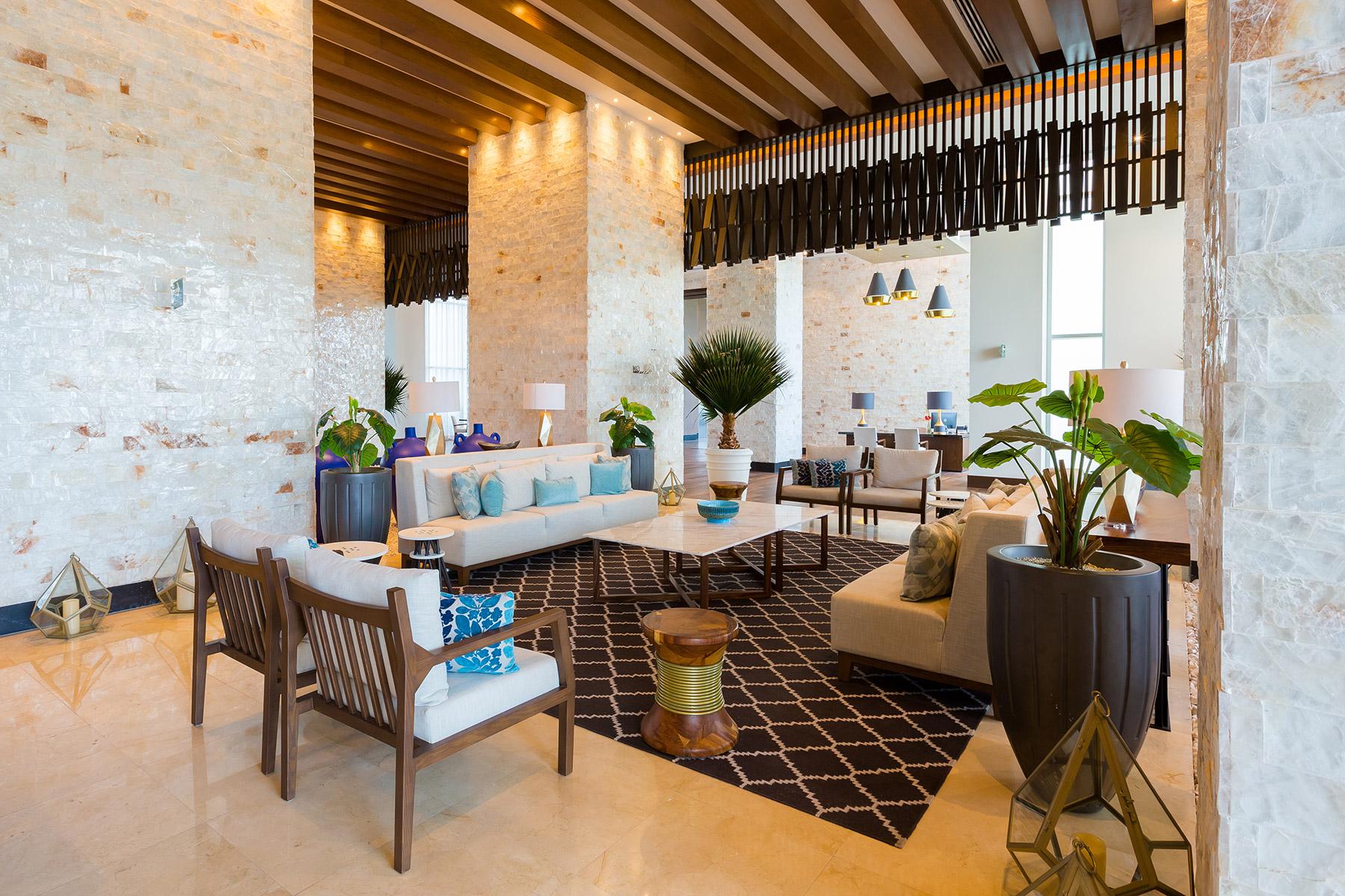 Lobby Torre V, Grand Luxxe Hotel