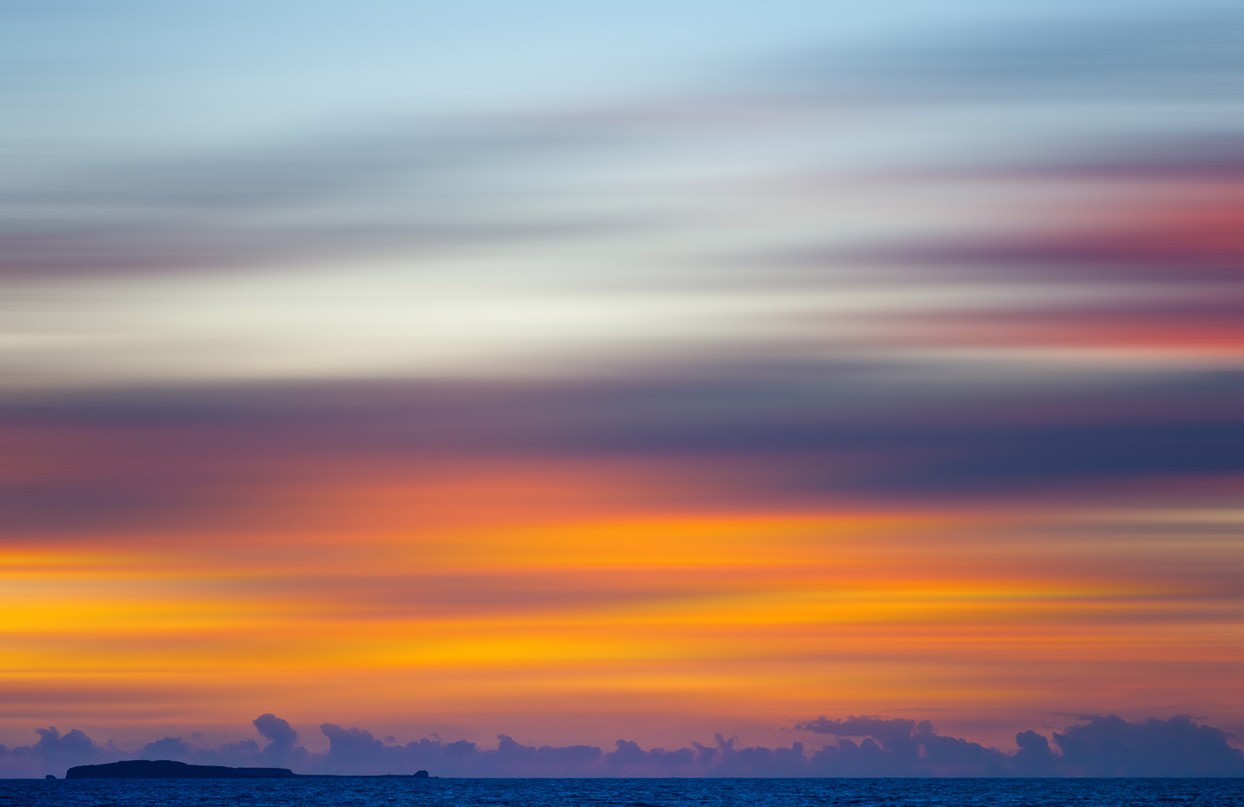 Amazing Sunset over Marietas