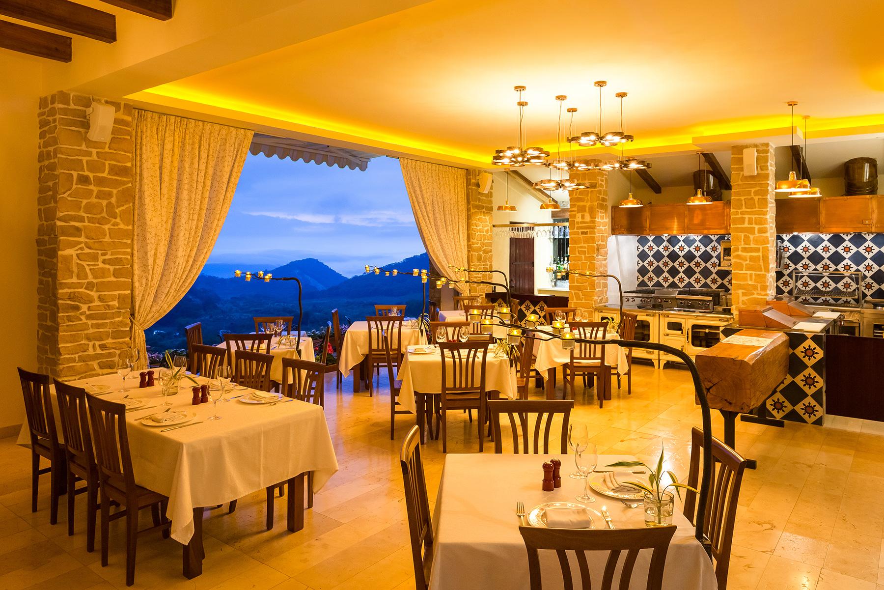 Villa Nogal, cocina franco-mexicana en San Sebastián del Oeste, Jalisco