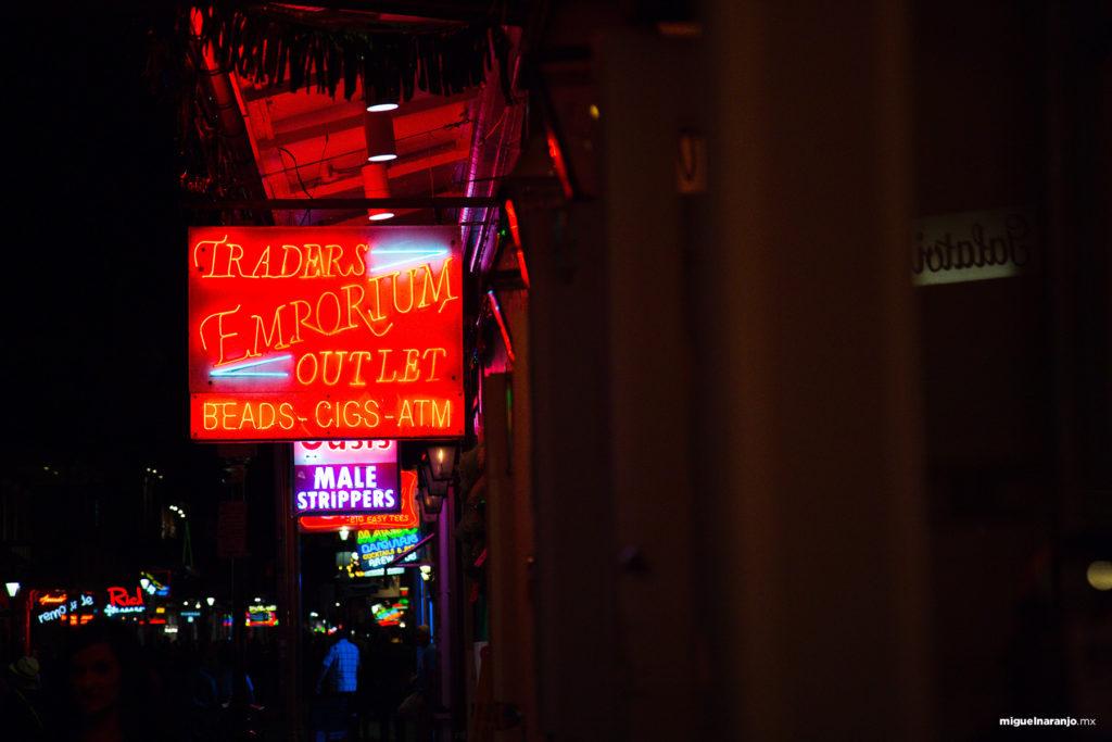 Nightlife at Bourbon St