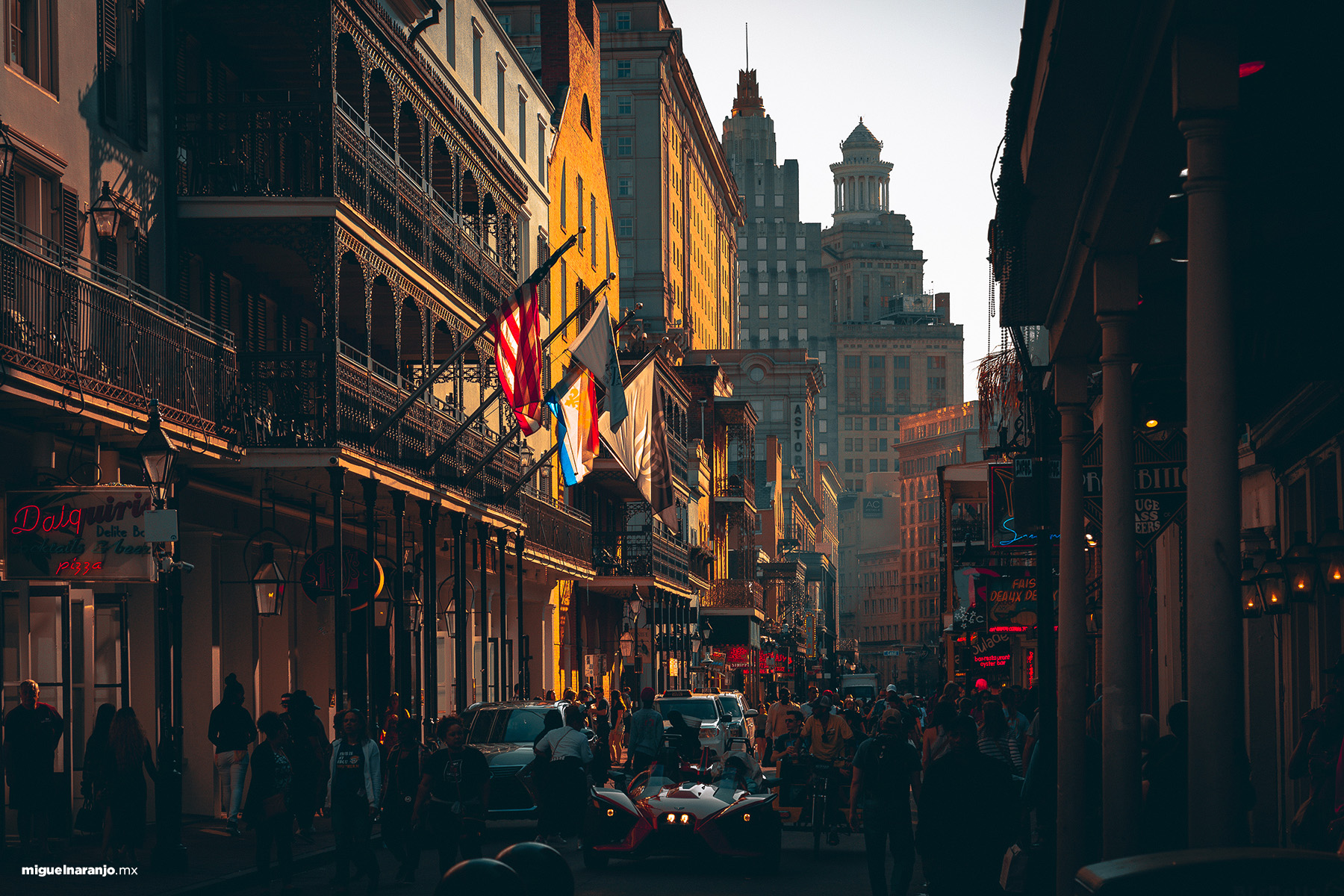 Bourbon Sr, New Orleans
