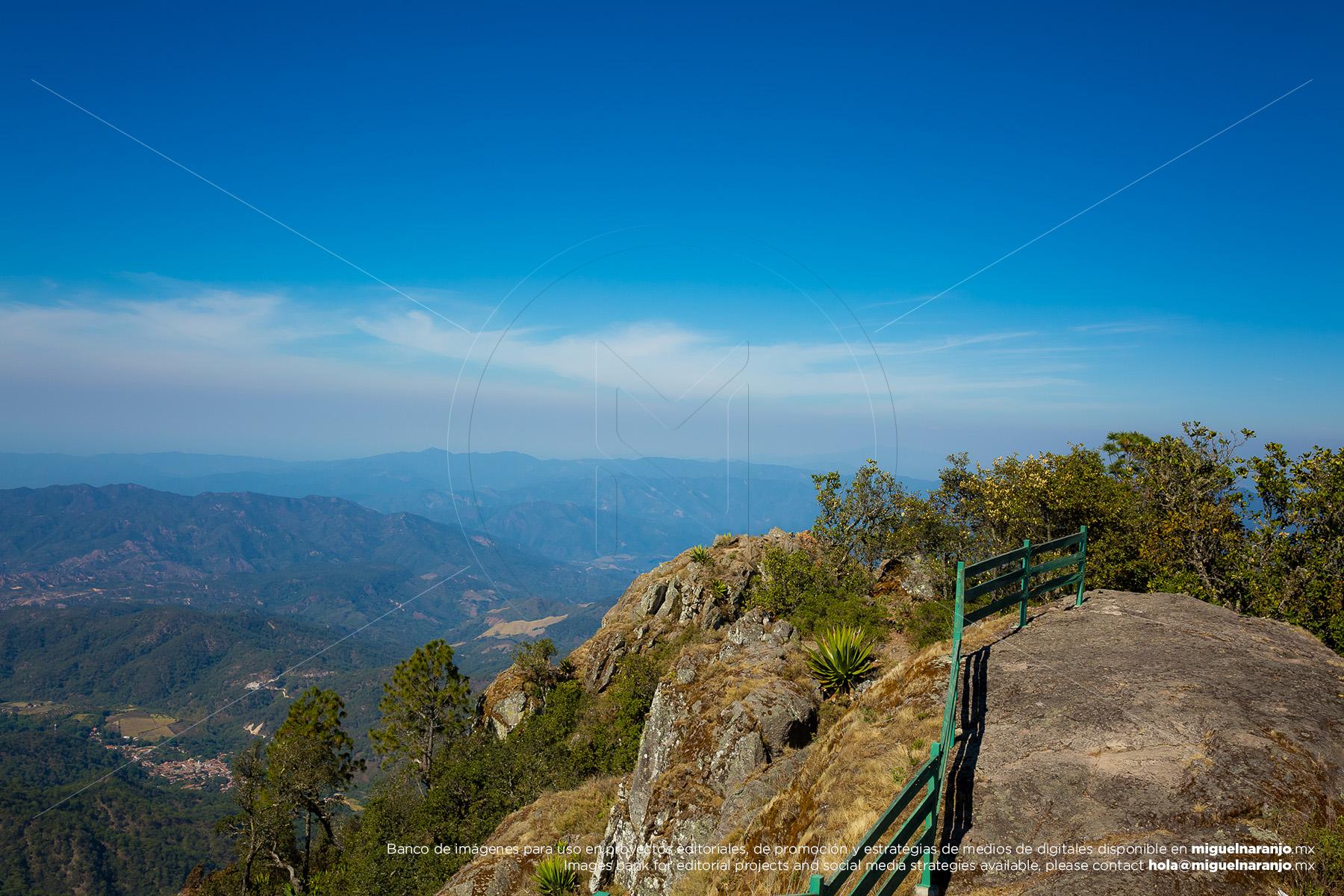 Mirador de La Bufa en San Sebastián del Oeste, Jalisco