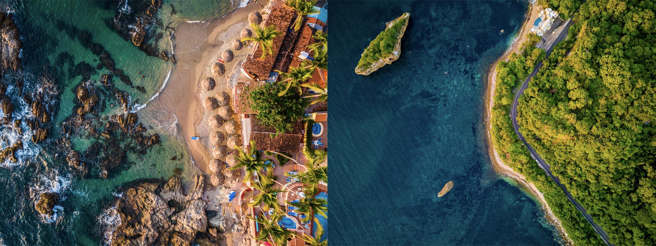 Fotografía y Video aéreo en Puerto Vallarta